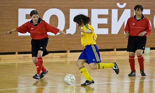 мини футбол девушки