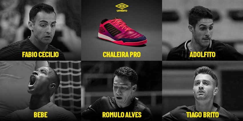 игроки, выбравшие Umbro Chaleira Pro